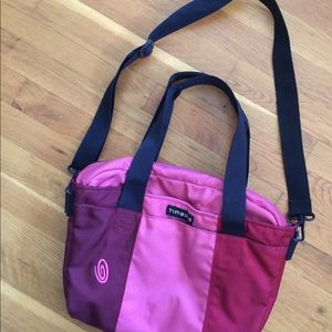 """Timbuk2 Laptop Bag Tricolor Holds up to 14"""" laptop"""